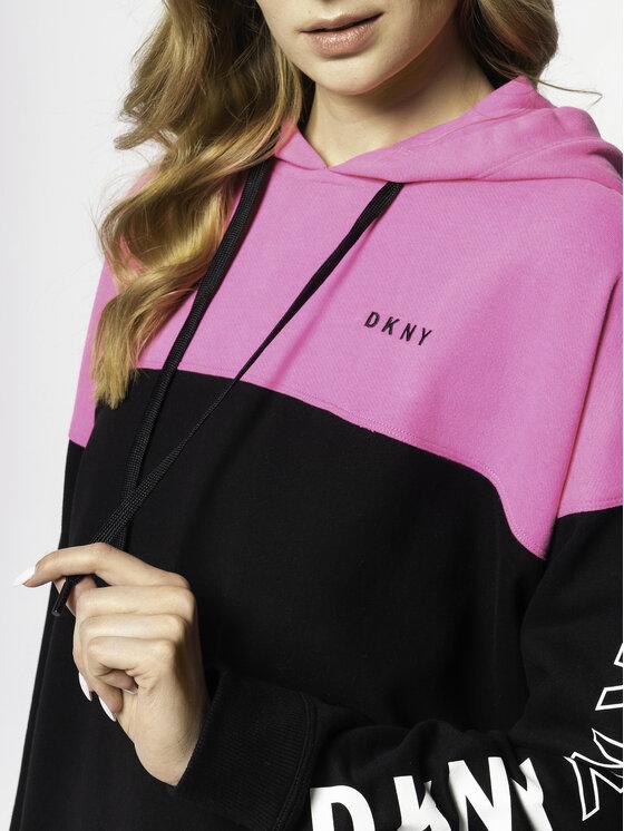 DKNY Sport DKNY Sport Суитшърт DP9T7067 Черен Regular Fit