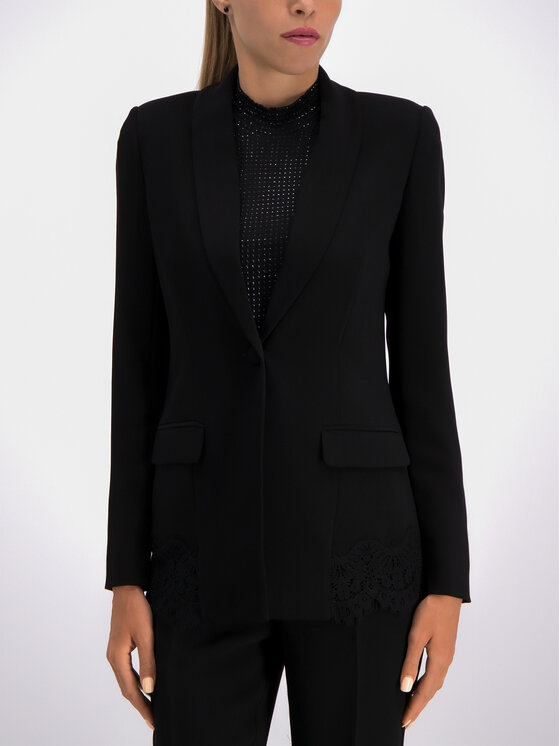 Guess Guess Blazer W93N48 W96R0 Negru Regular Fit