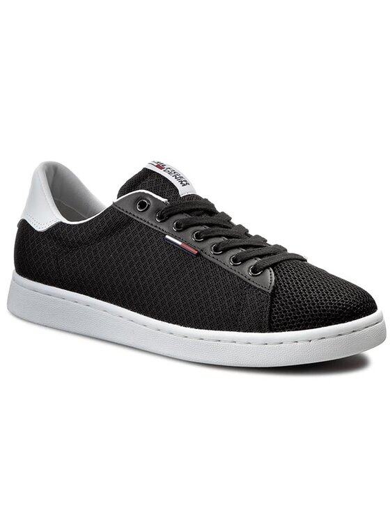 Tommy Hilfiger Tommy Hilfiger Sneakersy DENIM Sullivan 1M-1 EM56820721 Černá