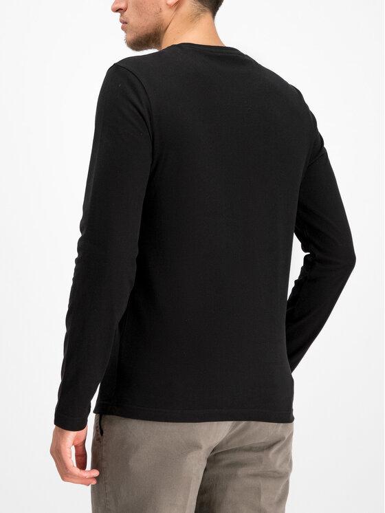 Aeronautica Militare Aeronautica Militare Тениска с дълъг ръкав 192TS1414J419 Черен Regular Fit