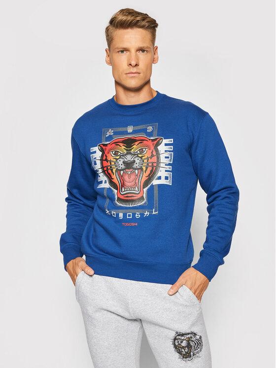 Togoshi Džemperis Roar 3 Tamsiai mėlyna Regular Fit