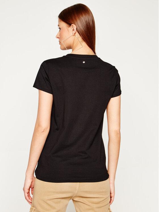 Silvian Heach Silvian Heach T-Shirt Blyde PGP20386TS Czarny Regular Fit