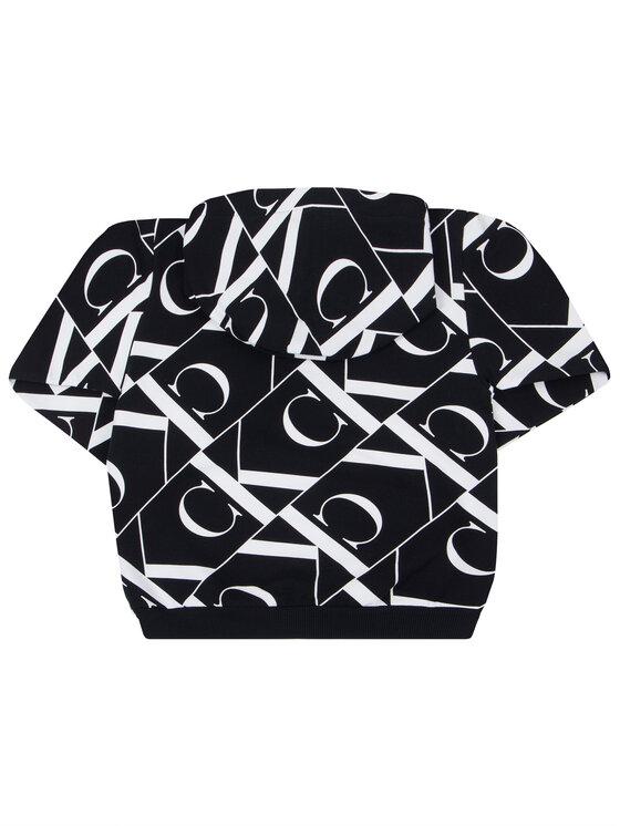 Calvin Klein Jeans Calvin Klein Jeans Džemperis Mirror Monogram IB0IB00361 Juoda Regular Fit
