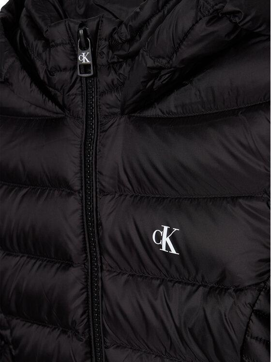 Calvin Klein Jeans Calvin Klein Jeans Kurtka puchowa Fitted Light Down IG0IG00590 Czarny Regular Fit