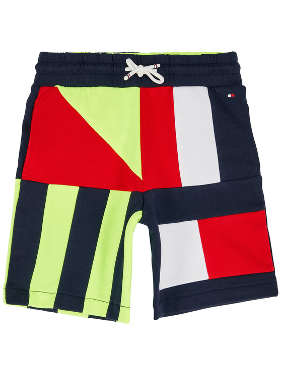 Tommy Hilfiger Tommy Hilfiger Αθλητικό σορτς Sailing Colorblock Sweatshort KB0KB05679 D Έγχρωμο Regular Fit