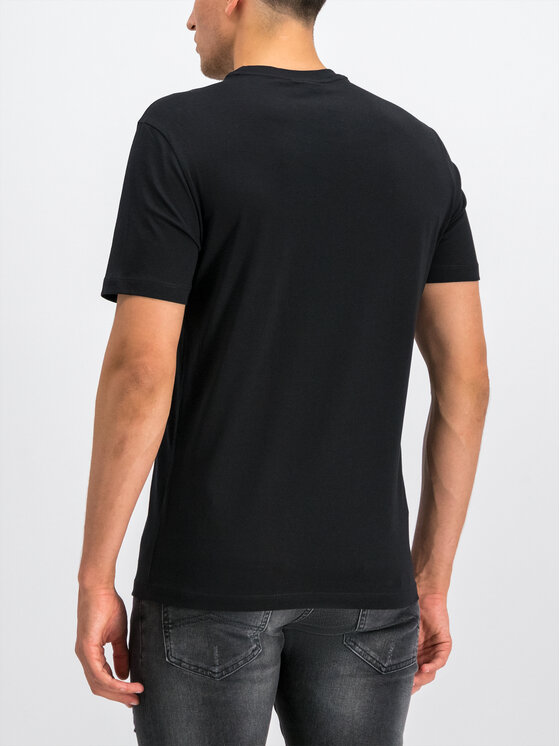 Emporio Armani Emporio Armani T-Shirt 6G1TE7 1JNQZ 0999 Μαύρο Regular Fit