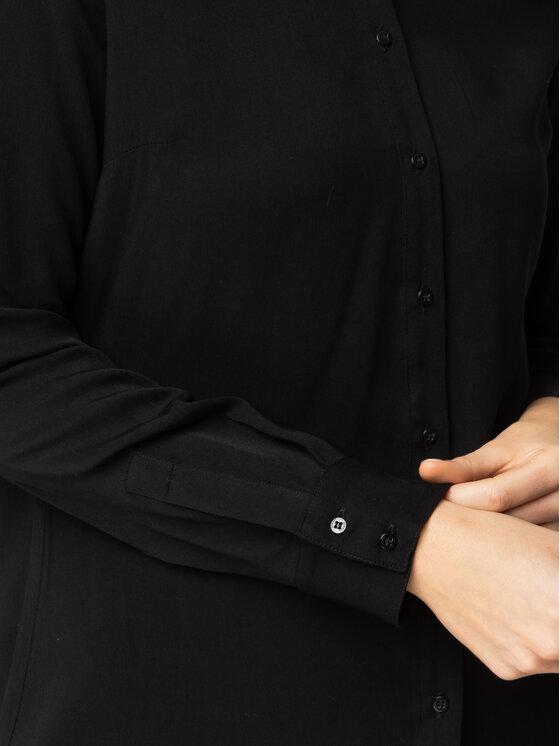 Guess Guess Koszula Ls Lima W01H83 WC9Z0 Czarny Regular Fit