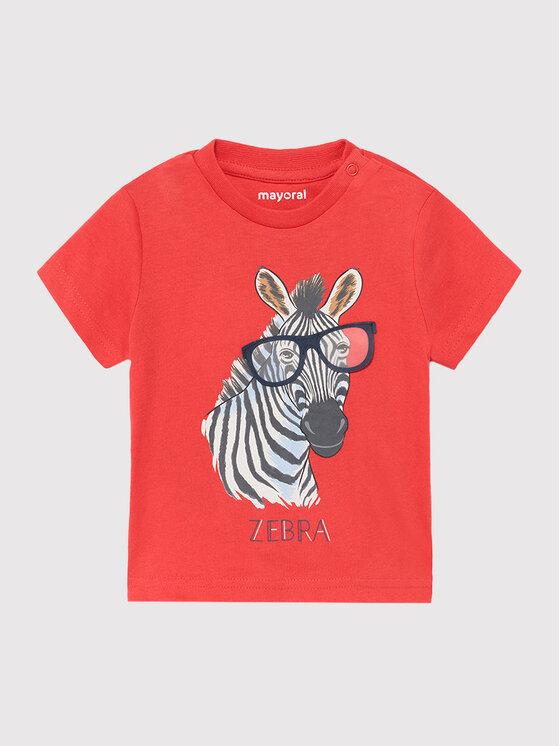 Levně Mayoral T-Shirt 1001 Červená Regular Fit