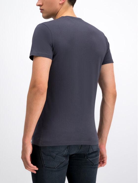 Pepe Jeans Pepe Jeans T-shirt Dean PM506537 Gris Slim Fit