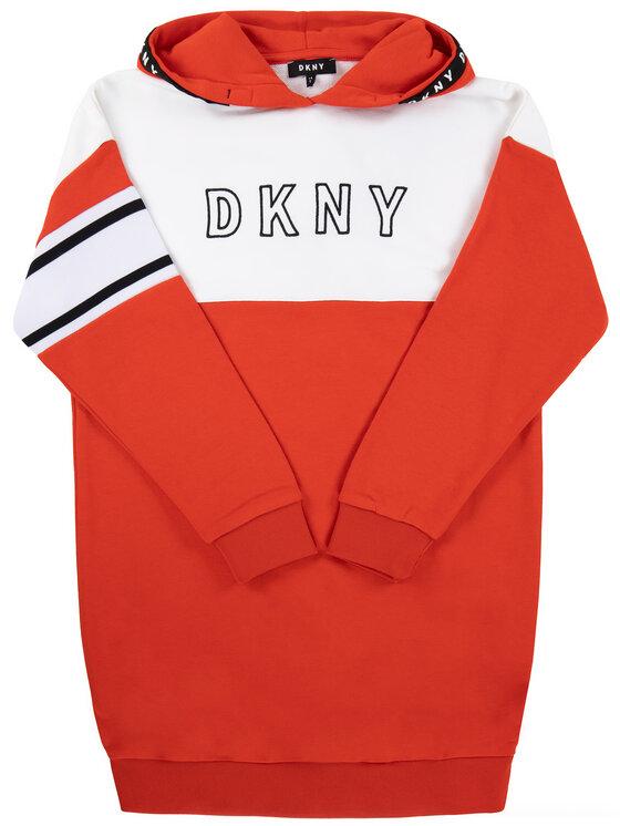 DKNY DKNY Vestito da giorno D32718 Rosso Regular Fit