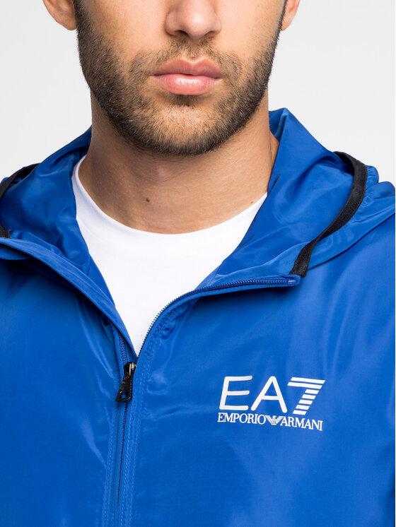 EA7 Emporio Armani EA7 Emporio Armani Demisezoninė striukė 8NPB04 PNN7Z 1582 Tamsiai mėlyna Regular Fit