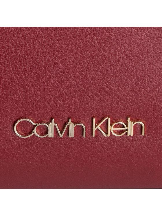 Calvin Klein Calvin Klein Torebka Enfold Shopper K60K605622 Bordowy