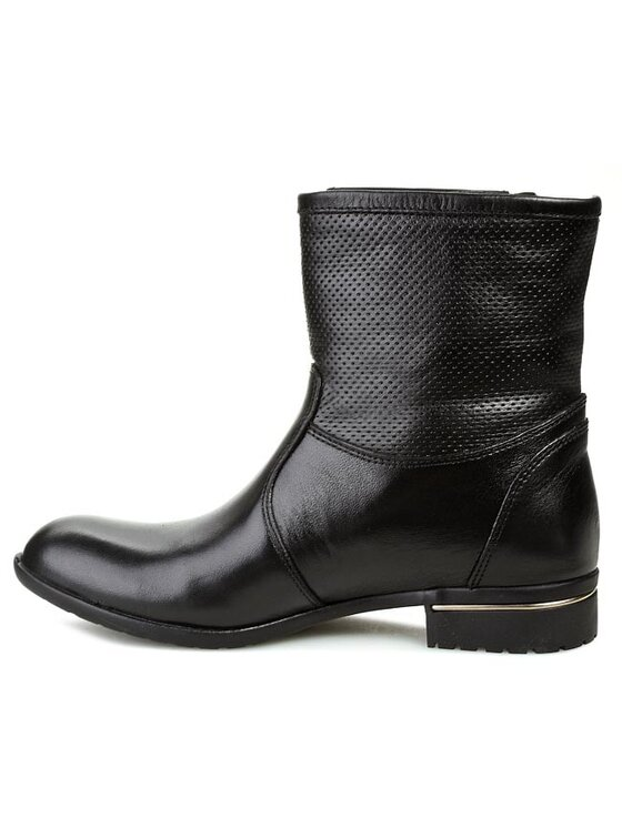 Carinii Carinii Členková obuv B2419 Čierna
