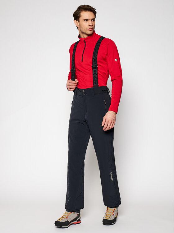 Descente Slidinėjimo kelnės Swiss DWMQGD40 Juoda Tailored Fit
