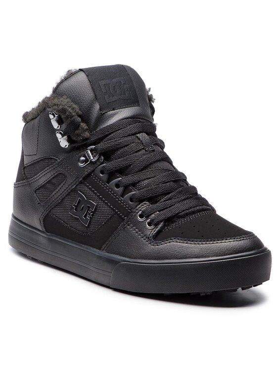 DC DC Laisvalaikio batai Pure High-Top Wc Wnt ADYS400047 Juoda