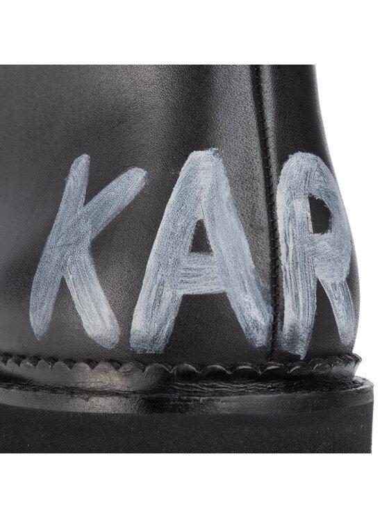KARL LAGERFELD KARL LAGERFELD Planinarske cipele KL42850 Crna