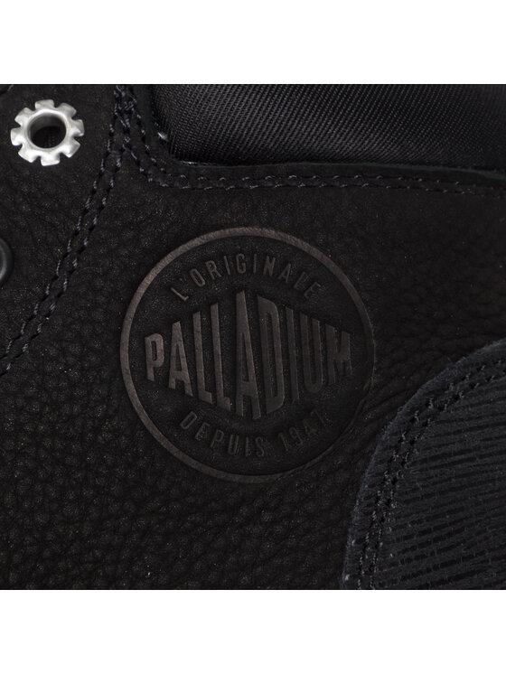 Palladium Palladium Туристически oбувки Low Cuf Lea W 95561-035-M Черен