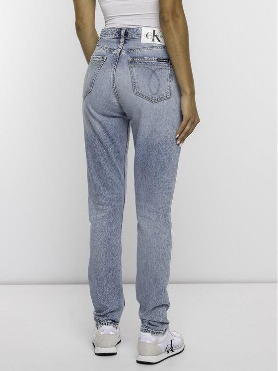 Calvin Klein Jeans Calvin Klein Jeans Halenka J20J211804 Bílá Regular Fit