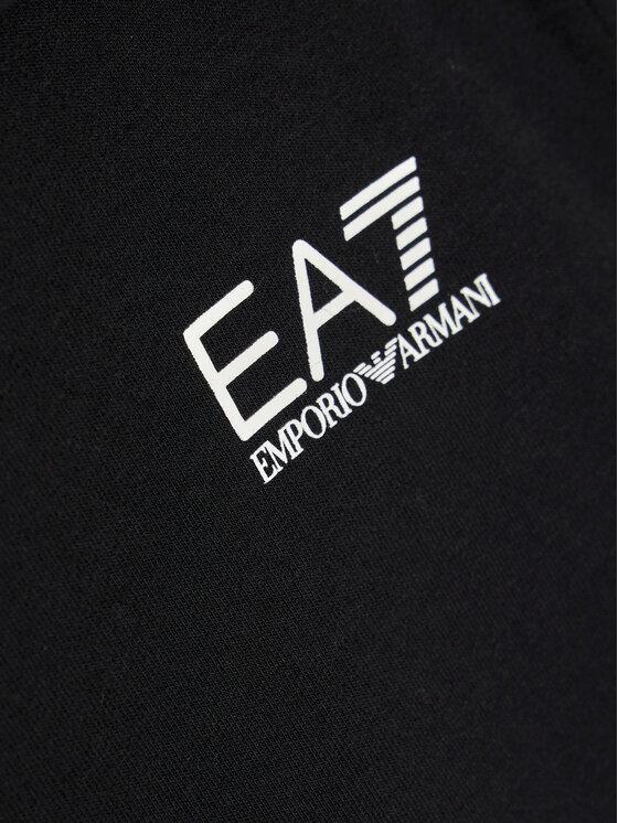EA7 Emporio Armani EA7 Emporio Armani Bluza 6HFM52 FJ31Z 1200 Czarny Regular Fit