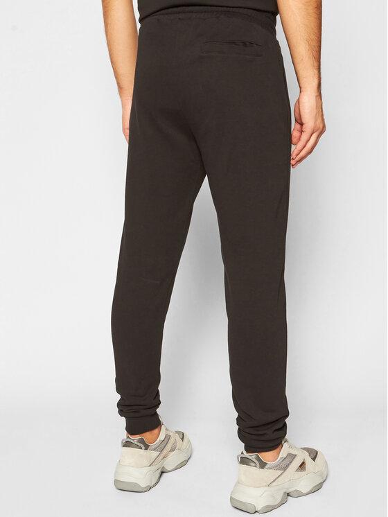 Trussardi Trussardi Spodnie dresowe Brushed 52P00131 Czarny Regular Fit