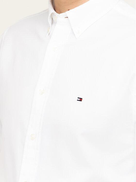 Tommy Hilfiger Tommy Hilfiger Koszula MW0MW10943 Biały Regular Fit