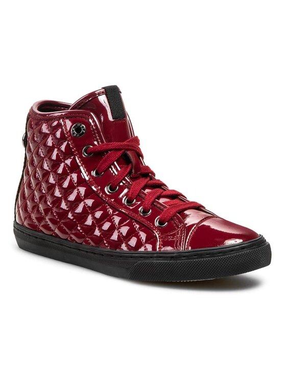 Geox Geox Sneakersy D W. Club C D34A1C 00002 C7452 Czerwony