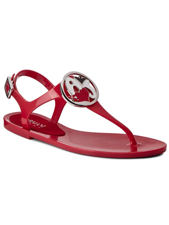 Armani Jeans Armani Jeans Flip flop 925213 7P601 08873 Roșu