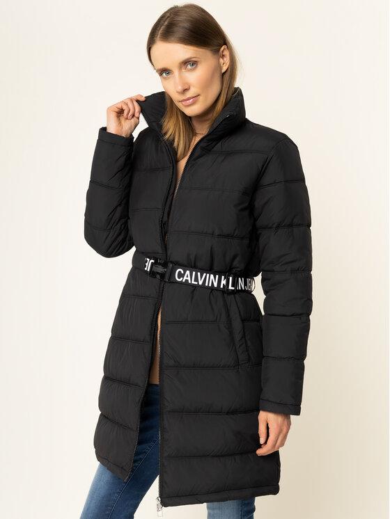 Calvin Klein Jeans Calvin Klein Jeans Doudoune Belted Puuffer J20J212531 Noir Regular Fit