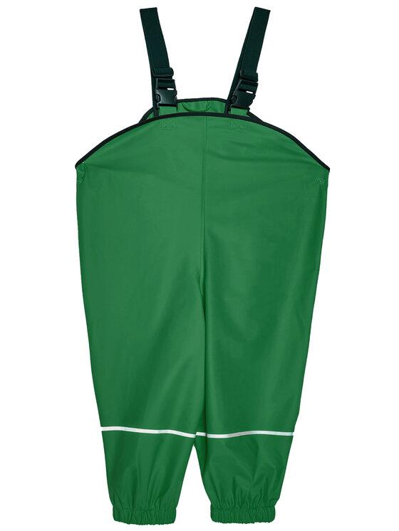 Playshoes Playshoes Spodnie przeciwdeszczowe 405424 D Zielony Regular Fit