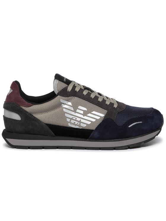 Emporio Armani Emporio Armani Sneakers X4X215 XL200 A233 Grigio