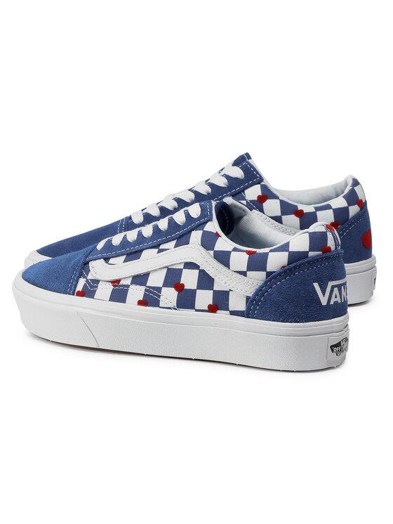 Vans Vans Tenisówki Comfycush Old Sko VN0A3WMAWI41 Niebieski