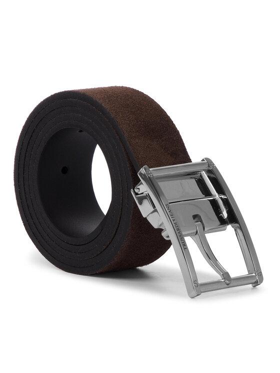Trussardi Trussardi Jeans Cintura da uomo Business Affair Kit 71L00079 Nero