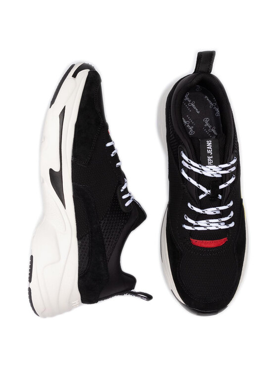 Pepe Jeans Pepe Jeans Sneakers Sinyu Men PMS30552 Nero