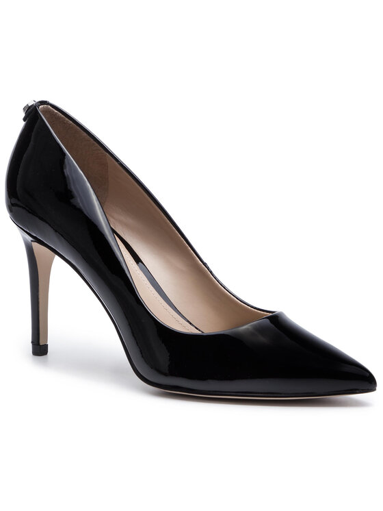 Guess Guess Pantofi cu toc subțire Bennie11 FL7B11 PAT08 Negru
