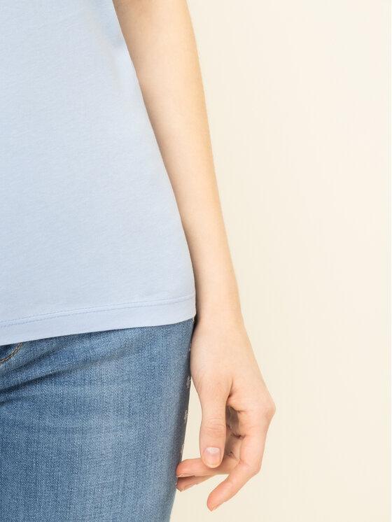 Liu Jo Liu Jo T-shirt WA0324 J5703 Bleu Regular Fit