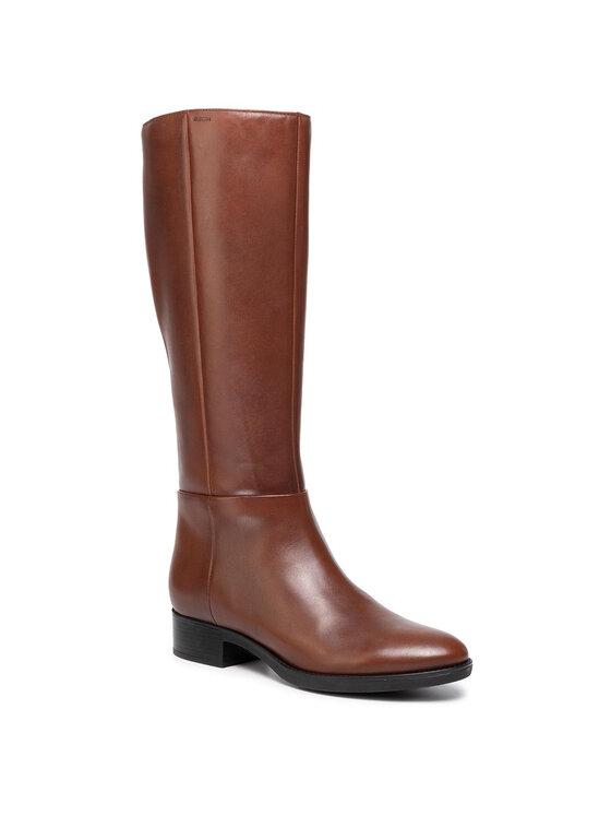 Geox Geox Μπότες Ιππασίας D Felicity D D84G1D 00043 C0013 Καφέ
