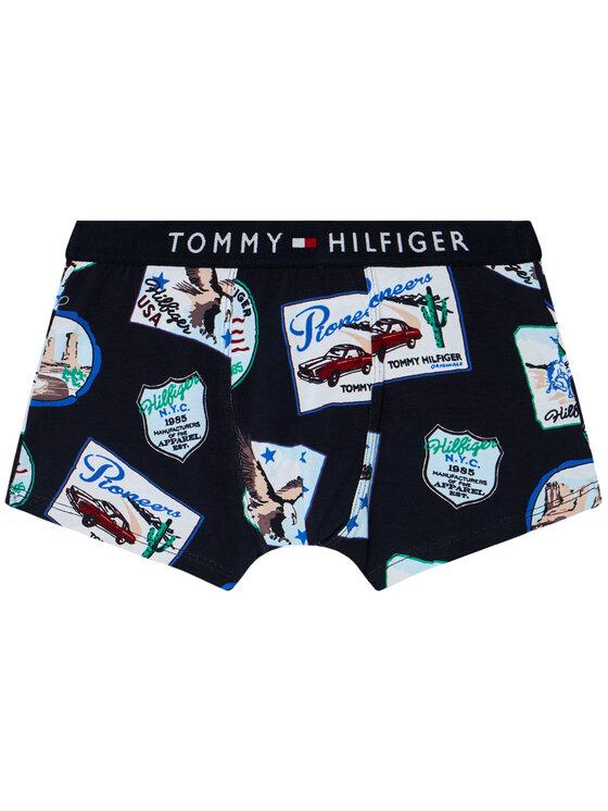 Tommy Hilfiger Tommy Hilfiger Komplet 2 par bokserek Trunk Print UB0UB00291 Kolorowy