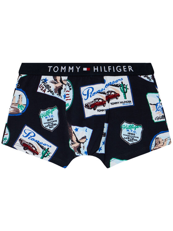 TOMMY HILFIGER TOMMY HILFIGER Sada 2 párů boxerek Trunk Print UB0UB00291 Barevná