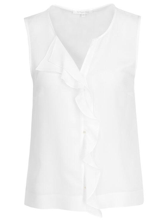 Patrizia Pepe Patrizia Pepe Блуза 2C1109/A156-W146 Бял Regular Fit