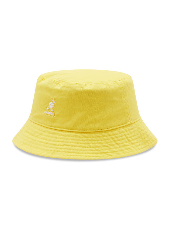 Kangol Skrybėlė Bucket Washed K4224HT Geltona