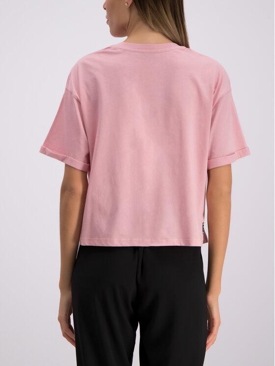 Versace Jeans Versace Jeans Póló B2HTB7T6 Rózsaszín Regular Fit