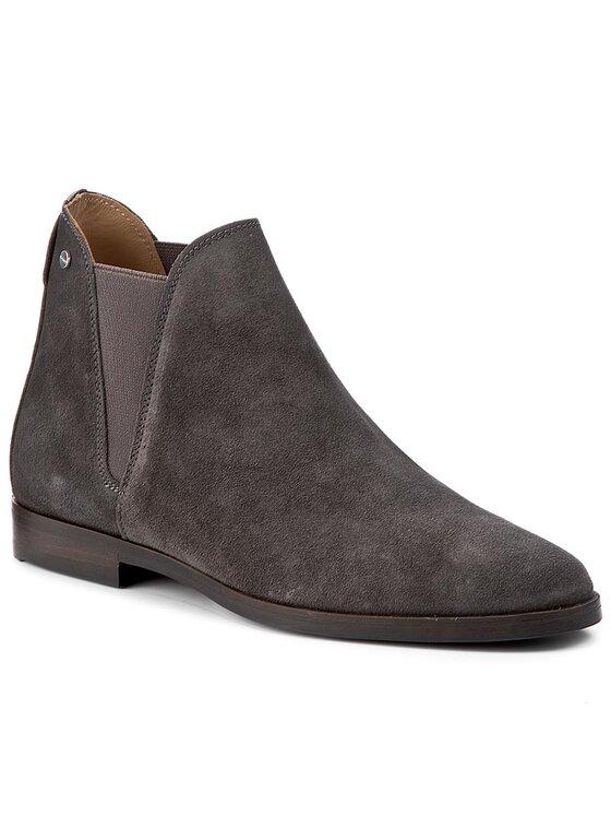 Gant Gant Členková obuv s elastickým prvkom Nicole 15573128 Sivá