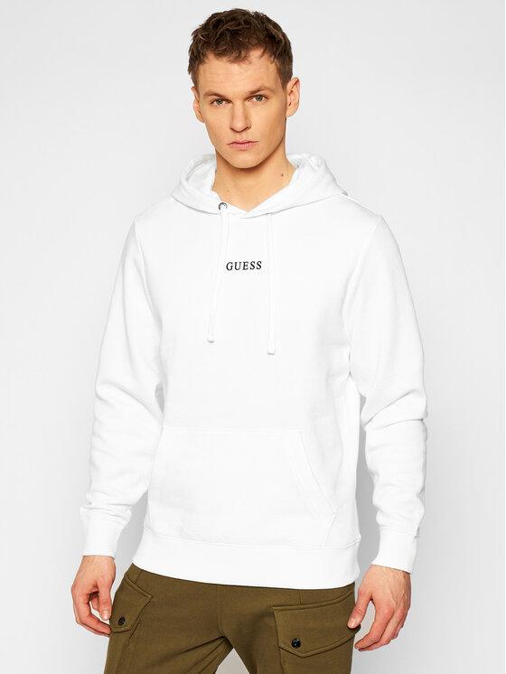 Guess Bluza M0GQ03 R44Q7 Biały Regular Fit