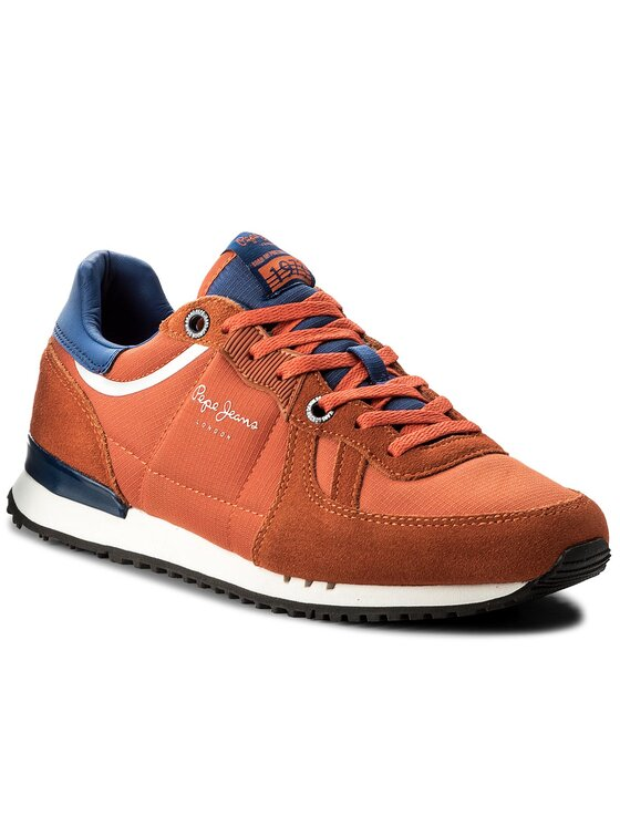 Pepe Jeans Pepe Jeans Sneakersy Tinker 1973 PMS30415 Oranžová