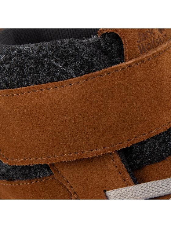 Jack Wolfskin Jack Wolfskin Trekingová obuv City Bug Texapore Mid K 4036121 D Hnedá
