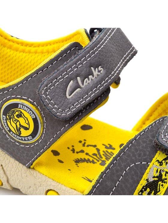 Clarks Clarks Sandales Tyrano Roar 261052297 Gris