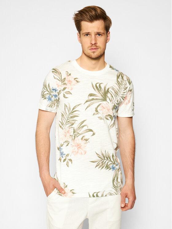 Jack&Jones Marškinėliai Blabeach 12187869 Smėlio Regular Fit