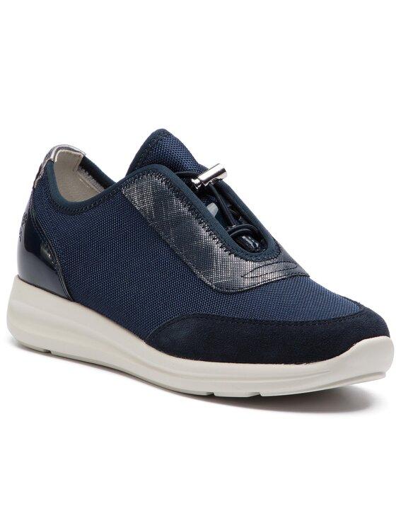 Geox Geox Sneakersy D Agyleah C D926CC 01422 C4002 Granatowy
