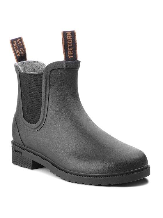 Tretorn Guminiai batai Chelsea Classic Wool 473417 Juoda