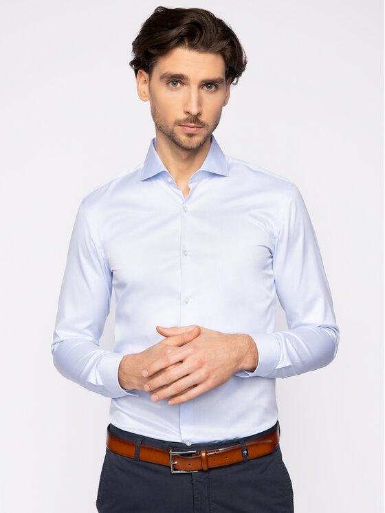 Hugo Hugo Košeľa Kason 50399344 Modrá Slim Fit